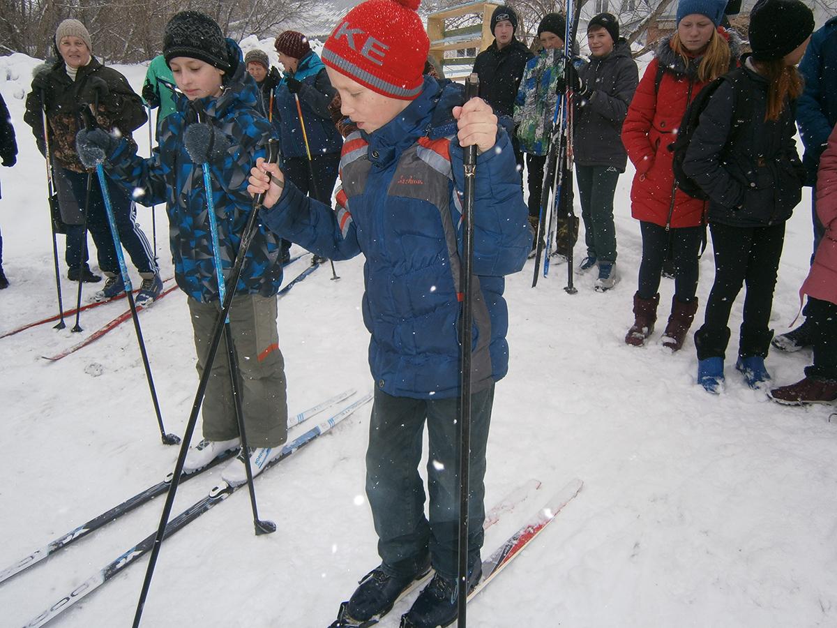 На лыжне, как на поле боя