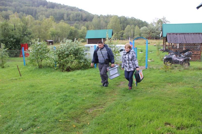 В Алтайском крае началось голосование для жителей труднодоступных и отдаленных местностей