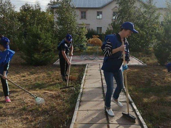 В городах и селах: субботники в поддержку эко-положений Конституции прошли в Алтайском крае