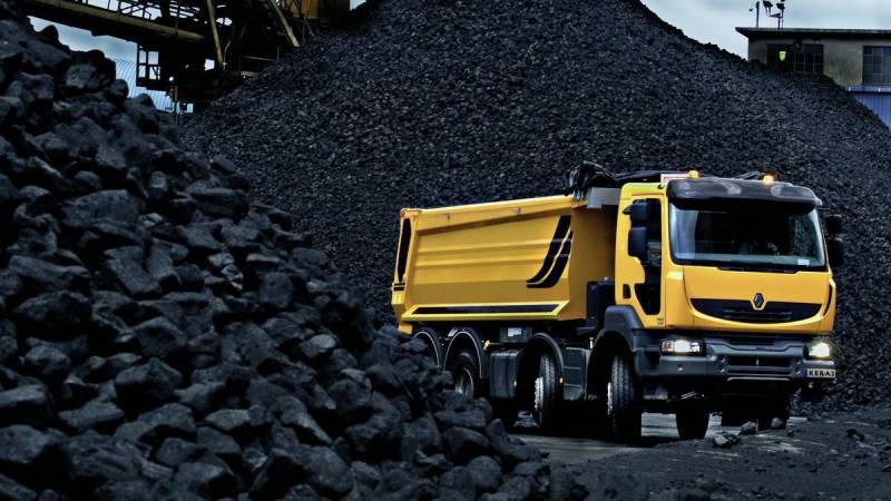 На подходе поставки угля