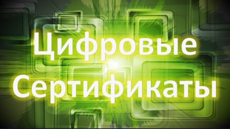 Персональные цифровые сертификаты получат жители 48 регионов России