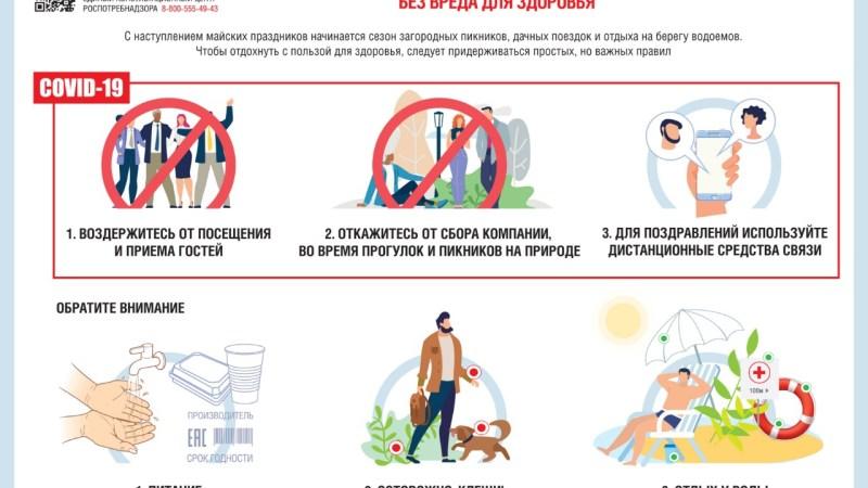 Управление Роспотребнадзора по Алтайскому краю напоминает гражданам о необходимости соблюдать противоэпидемические меры: масочный режим, социальное дистанцирование, дезинфекцию в общественных местах, на городском транспорте и т.п.