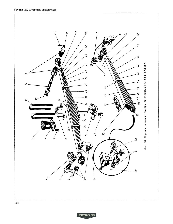 Katalog Cz Ci Zamiennych Uaz 450 Gaz 69 Retro69 Specjalizuje Si W Produkcji Cz Ci Do