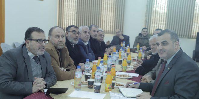 بلدية خان يونس تطلع الحكم المحلي على مشاريع التطوير والتحديات المرحلية