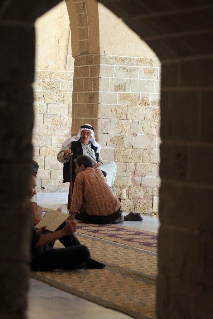 The Omari mosque in Gaza City