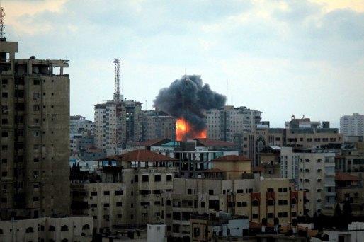 Bombing of Gaza, summer 2014