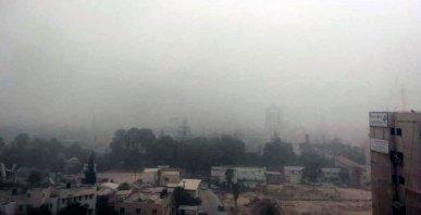 Gaza in a sandstorm