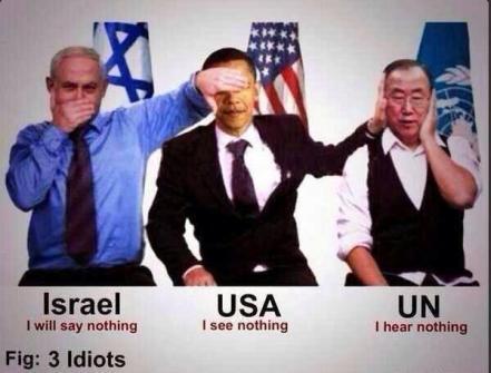 terrorist israel usa un