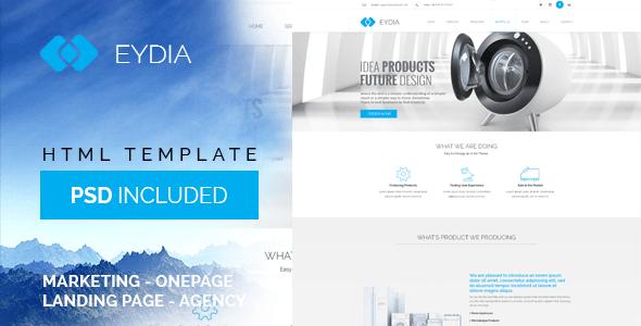 Eydia - Responsive HTML5 Template