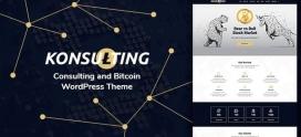 Konsulting (Consulting & Bitcoin WordPress Theme)