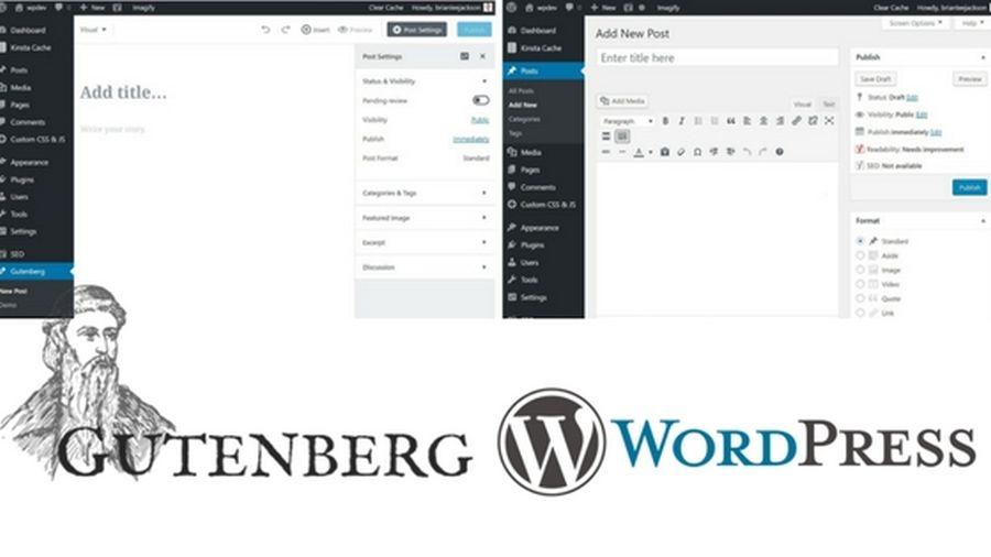 Dezactivarea noului editor Gutenberg
