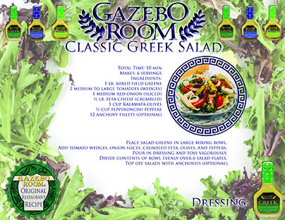 Classic Greek Salad Original Restaurant Recipes Printable