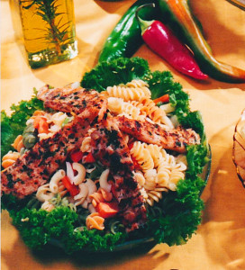 Gazebo Room Restaurant Greek Pasta Salad (Left)