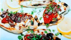 Gazebo Room Restaurant Grilled Spartan Chicken Breasts