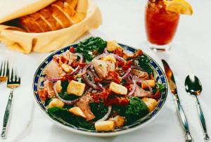 Gazebo Room Restaurant Salad Nicoise
