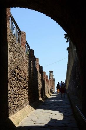 Pompei kentinin giriş kapılarından birisi