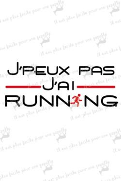 t-shirt-j'peux pas j'ai running