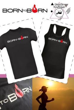 T-shirt Born to Burn