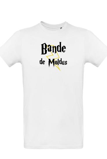 t-shirt- bande de moldus