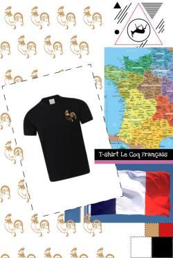 T-shirt Mon Coq Français-enfant