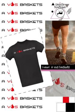 t-shirt-a-vos-baskets-homme