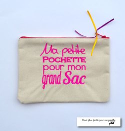 Pochette pour mon grand sac