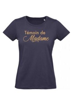 Le T-shirt la Copine/Témoin de la Mariée