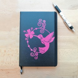 Grand Carnet- Le colibri