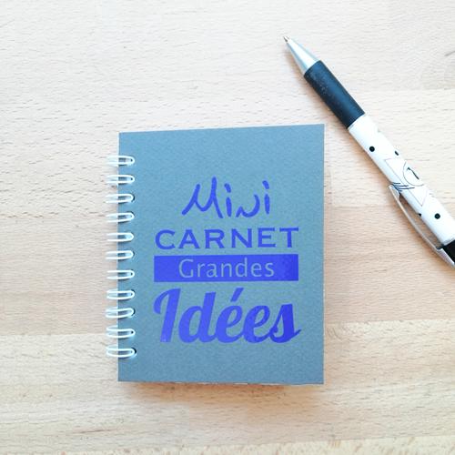 Mini Carnet Grandes Idées