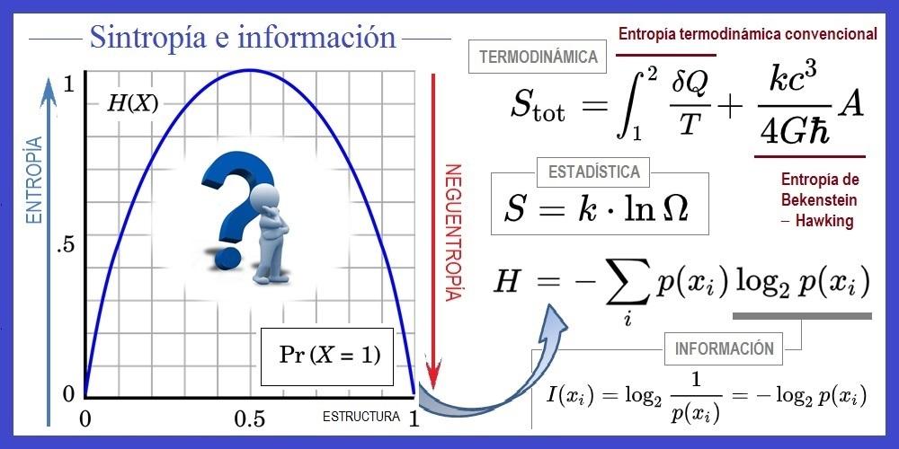 Neguentropía e información: asimetría y estructura | gAZeta