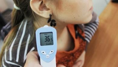COVID-19 средняя температура по балаковским школам нормальная