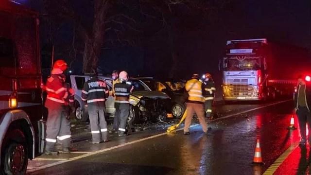 accident mortal in bihor
