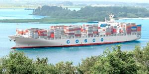 Maior navio a aportar em Paranaguá atraca em segurança