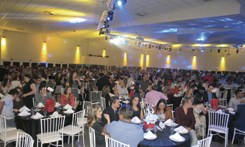 Confraternização anual se transforma em grande festa