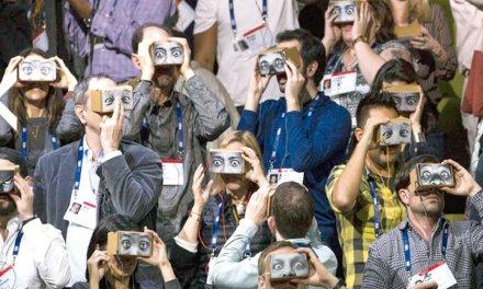 Realidade virtual  ou aumentada