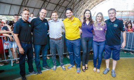 RICTV no Bairro reuniu 1.500 pessoas no Pinheirinho