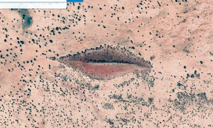 Imagens curiosas capturadas pelos satélites do Google
