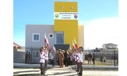 23º Batalhão da PM inaugura nova sede na CIC