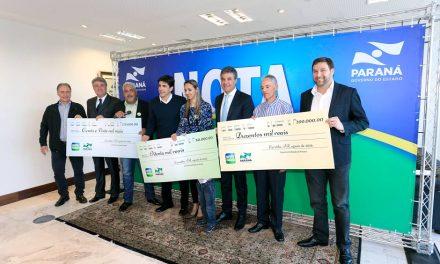 No Interior dois dos maiores prêmios do Programa Nota Paraná
