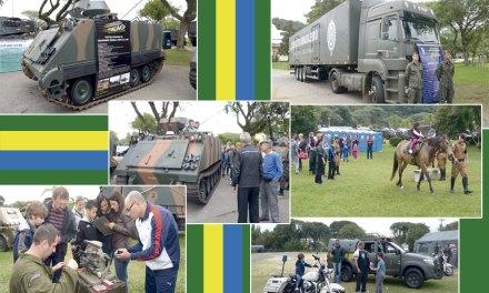 5ª Divisão de Exército realiza atividades  em comemoração à Semana do Exército