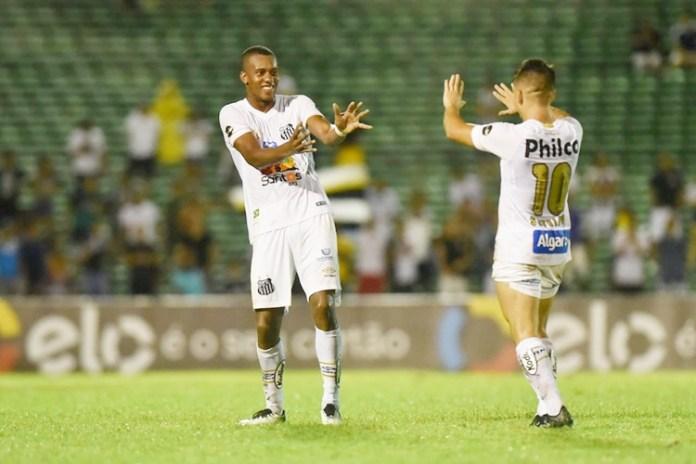 Santos vence por 7 a 1. Foto: Ivan Storti/Santos