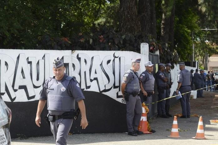 Ataque aconteceu na Escola Estadual Professor Raul Brasil, em Suzano. Foto: Rovena Rosa/Agência Brasil