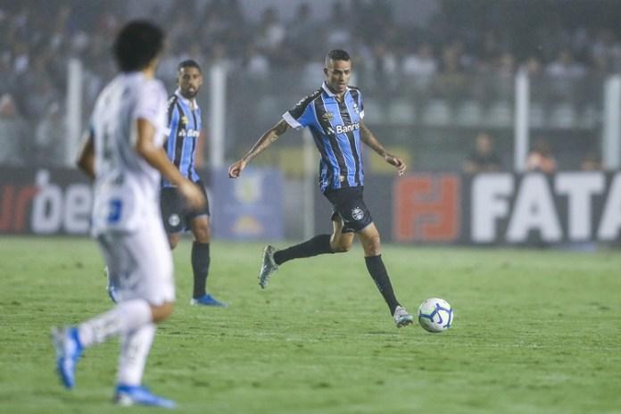 Grêmio vence o Santos. Foto: Lucas Uebel/Grêmio