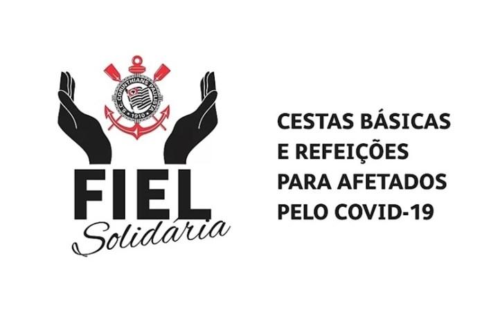 Torcida do Corinthians cria campanha 'Fiel Solidária'. Foto: Reprodução