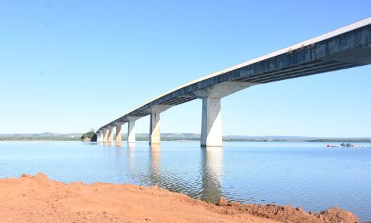 Obras da nova ponte de Porto Nacional foram iniciadas ainda em 2019 com recursos do próprio Estado