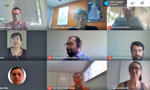 Por videoconferência, membros do FEMC debateram pautas importantes nessa quarta-feira