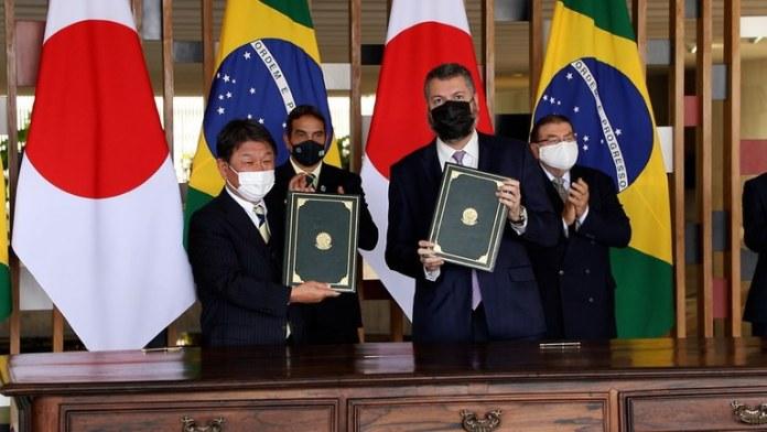 Brasil e Japão assinam acordo de cooperação em tecnologias para grafeno e nióbio
