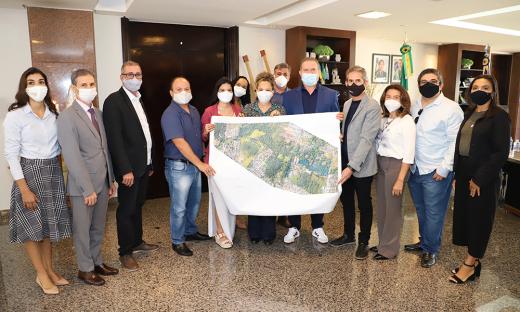 Governador Carlesse disse que tem buscado recursos em Brasília para a construção do parque em Gurupi