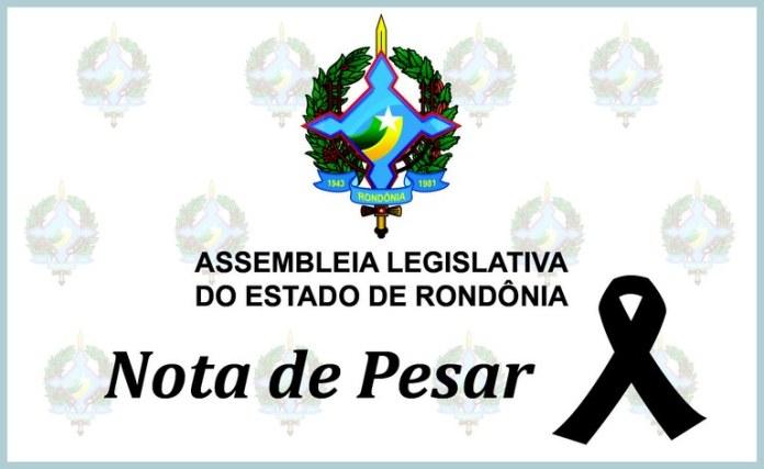 Nota de pesar do presidente Alex Redano pelo falecimento de Miriane Gomes Santos