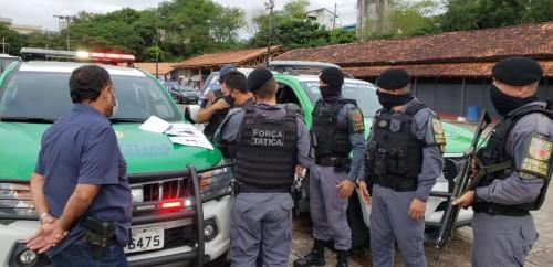 FOTOS: Tabajara Moreno/SSP-AM e Divulgação/SSP-AM